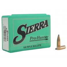 Sierra Bullets .264 Caliber / 6.5mm (.264 Diameter) 120 Gr. Pro-Hunter Spitzer Box of 100