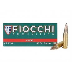 Fiocchi 4.6x30mm HK 40 Gr. Barrier Soft Point- Box of 50