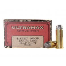 Ultramax Cowboy Action .44 Special 200 Gr. Lead Flat Nose- Box of 50