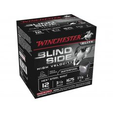 "Winchester Blind Side High Velocity 12 Gauge 3-1/2"" 1-3/8 oz #1 Non-Toxic Steel Shot- Box of 25"