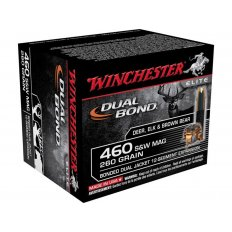 Winchester Supreme Elite Dual Bond .460 S&W Magnum 260 Gr. Jacketed Hollow Point- Box of 20