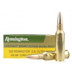 Remington Express .300 Remington Short Action Ultra Magnum 165 Gr. Core-Lokt Pointed Soft Point- Box of 20