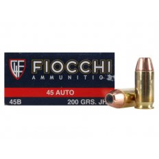 Fiocchi Shooting Dynamics .45 ACP 200 Gr. Jacketed Hollow Point 45B