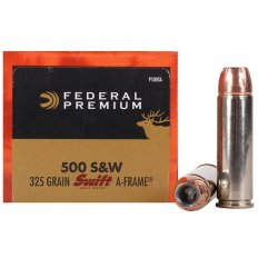 Federal Premium Vital-Shok .500 S&W Magnum 325 Gr. Swift A-Frame- Box of 20
