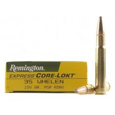 Remington Express .35 Whelen 250 Gr. Core-Lokt Pointed Soft Point- Box of 20