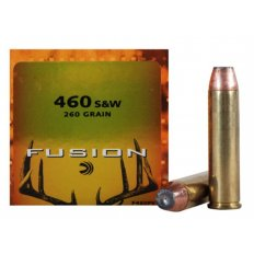 Federal Fusion .460 S&W Magnum 260 Gr. Jacketed Hollow Point- Box of 20