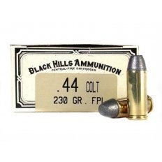 Black Hills Cowboy Action .44 Colt 230 Gr. Lead Flat Nose- Box of 50