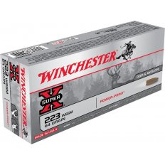 Winchester Super-X .223 Winchester Super Short Magnum (WSSM) 64 Gr. Power-Point- Box of 20