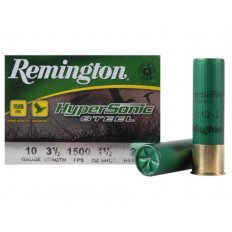 "Remington HyperSonic 10 Gauge 3-1/2"" 1-1/2 oz #2 Non-Toxic Steel Shot HSS102"