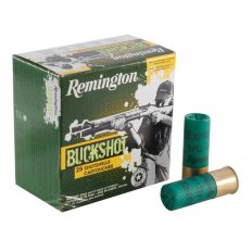 "Remington Express 12 Gauge 2-3/4"" 00 Buckshot 9 Pellets- Box of 25"