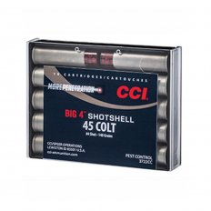 CCI Big 4 Shotshell .45 Colt 140 Gr. #4 Shot 3722CC