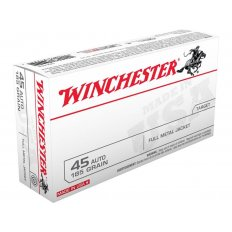 Winchester USA .45 ACP 185 Gr. Full Metal Jacket- Box of 50