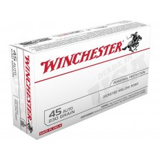Winchester USA .45 ACP 230 Gr. Jacketed Hollow Point- Box of 50