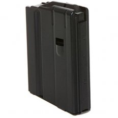 C Products Defense AR-15 6.8mm SPC 5-Round Magazine with Anti-Tilt Follower- Black Steel