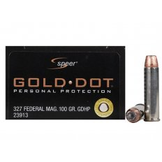 Speer Gold Dot .327 Federal Magnum 100 Gr. JHP- Box of 20