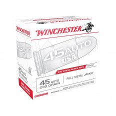 Winchester USA .45 ACP 230 Gr. Full Metal Jacket- Box of 200