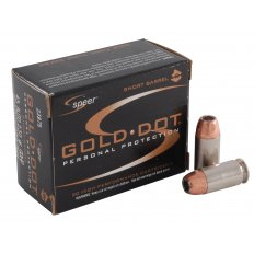 Speer Gold Dot Short Barrel .45 ACP 230 Gr. Jacketed Hollow Point 23975