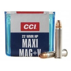 CCI Maxi-Mag +V .22 WMR 30 Gr. Jacketed Hollow Point- Box of 50