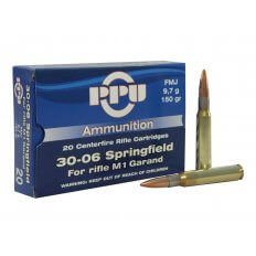Prvi Partizan .30-06 Springfield (M1 Garand) 150 Gr. Full Metal Jacket- Box of 20