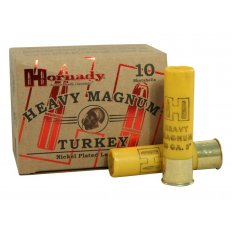 "Hornady Heavy Magnum Turkey 20 Gauge 3"" 1-3/8 oz #5 Nickel Plated Shot- Box of 10"