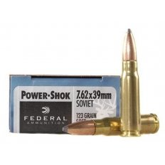 Federal Power-Shok 7.62x39mm 123 Gr. Soft Point 76239B