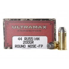 Ultramax Cowboy Action .44 Russian 200 Gr. Lead Flat Nose- Box of 50
