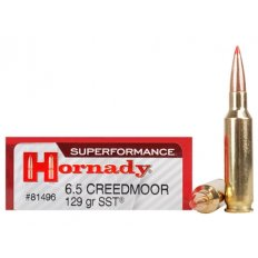 Hornady SUPERFORMANCE 6.5 Creedmoor 129 Gr. SST- Box of 20