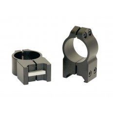 "Warne 1"" Maxima Permanent-Attachable Weaver-Style Scope Rings- High Height .525""- Matte"