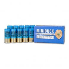 "NobelSport Minibuck 12 Gauge 2-1/4"" 00 Buck 6 Pellet Lead- Box of 10"