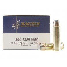 Magtech Sport .500 S&W Magnum 325 Gr. Semi-Jacketed Soft Point 500B