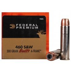 Federal Premium Vital-Shok .460 S&W Magnum 300 Gr. Swift A-Frame- Box of 20