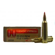 Hornady Varmint Express .22-250 Remington 50 Gr. V-Max- Box of 20