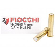 Fiocchi 9mm Rimfire (Flobert) #9 Shot Shotshell- Box of 50