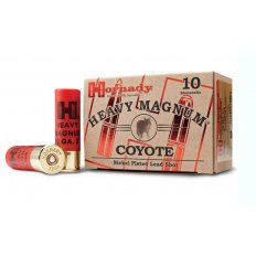 "Hornady Heavy Magnum Coyote 12 Gauge 3"" 1-1/2 oz BB Nickel Plated Shot- Box of 10"