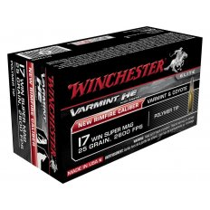 Winchester .17 Winchester Super Magnum 25 Gr. Hornady V-Max- Box of 50