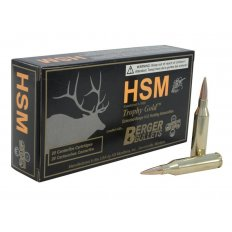 HSM Trophy Gold .243 Winchester 95 Gr. Berger Hunting VLD Hollow Point Boat Tail- Box of 20
