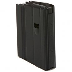 C Products Defense AR-10 .308 Winchester 5-Round Magazine No Tilt Follower- Black Stainless Steel