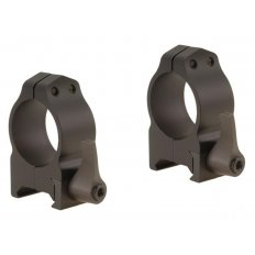 "Warne 1"" Maxima Quick-Detachable Weaver-Style Scope Rings- Medium Height .375""- Matte"