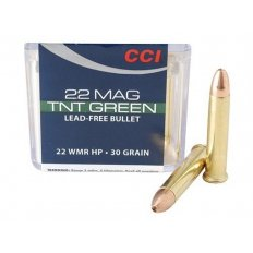 CCI Maxi-Mag .22 Winchester Magnum Rimfire (WMR) 30 Gr. Speer TNT Green Hollow Point 60