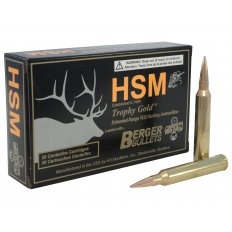 HSM Trophy Gold 7mm STW 168 Gr. Berger Hunting VLD Hollow Point Boat Tail BER-7STW168VLD