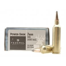 Federal Power-Shok 7mm Winchester Short Magnum (WSM) 150 Gr. Soft Point- Box of 20