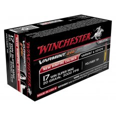 Winchester .17 Winchester Super Magnum 20 Gr. Hornady V-Max- Box of 50
