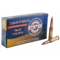 Prvi Partizan Match 7.62x54R 182 Gr. Full Metal Jacket- Box of 20