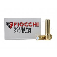 Fiocchi 9mm Rimfire (Flobert) #8 Shot Shotshell- Box of 50