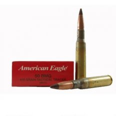Federal American Eagle Tactical Tracer .50 BMG 618 Gr. XM17 Full Metal Jacket Tracer XM17C