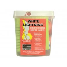 Tannerite White Lightning Rimfire Exploding Target- Package of 15