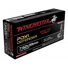 Winchester Supreme Elite Self Defense 7.62x39mm 120 Gr. PDX1 Jacketed Hollow Point- Box of 20