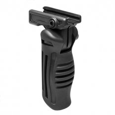 NcStar Folding Verticle Grip- 4 Positions- Black
