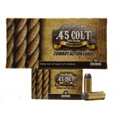 American Cowboy .45 Long Colt 200 Gr. Lead Flat Point- Box of 50