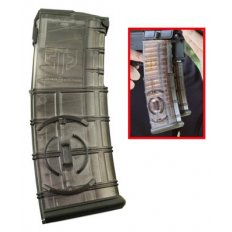 Elite Tactical Systems AR-15 5.56x45mm 30-Round Magazine with Integrated Coupling System- Translucent Polymer